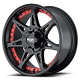 MOTO METAL MO961 20X9 5X5.5 Black (Quantity of 1)