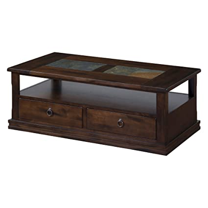 Merveilleux Sunny Designs Santa Fe Storage Coffee Table In Dark Chocolate