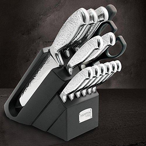 Set Hampton Forge - Hampton Forge HMC01B273A Argentum Cutlery Block Set Silver