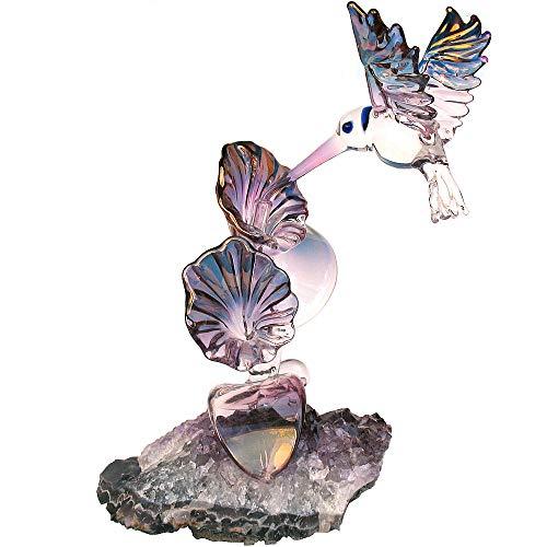 (Prochaska Gallery Hand Blown Glass Hummingbird)