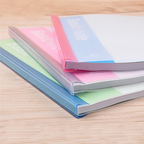 bilipala plastic clear sliding bar file folders report covers of a4 size paper resume portfolio