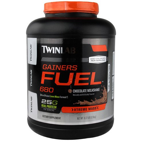 Twinlab Gainers Fuel 680 - Chocolate Milkshake - 6.17 lb