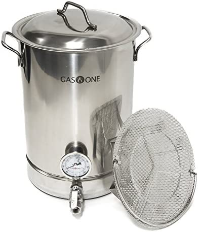 GasOne Stainless Brewing Thermometer Complete