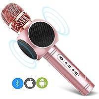 ERAY Micrófono Inalámbrico Karaoke, Micrófono karaoke Bluetooth 4