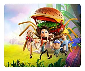 Cloudy with a Chance of Meatballs 2 Custom Rectangle Mouse Pad by How Easy