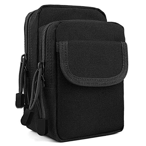 Waist Pouch Utility Pack (Tactical Waist Pouch EDC Molle Side Pocket Utility Gadget Belt Waist Bag Compact Tool Organizer Pack Phone Holster)