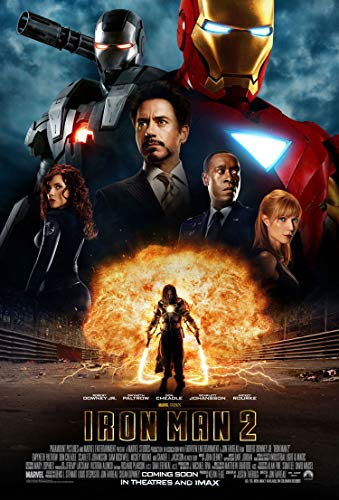 IRON MAN 2 MOVIE POSTER 2 Sided ORIGINAL RARE INTL 27x40 ROBERT DOWNEY JR.