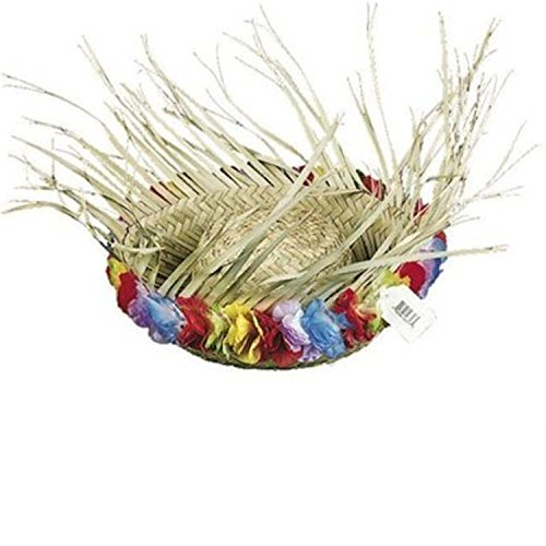 Fun Express Flowered Straw Beachcomber