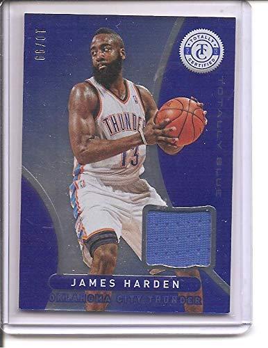 finest selection 930f9 a1c53 James Harden Houston Rockets/OKC Thunder 2012-13 Panini ...