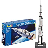 Revell Saturn V 1:144 Scale Model Kit -Plastic Model Kit
