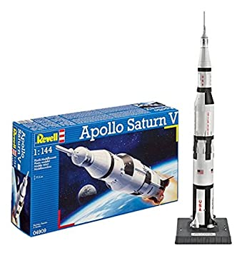 Revell- Maqueta Apollo Saturn V, Kit Modello, Escala 1:144 (4909) (04909)