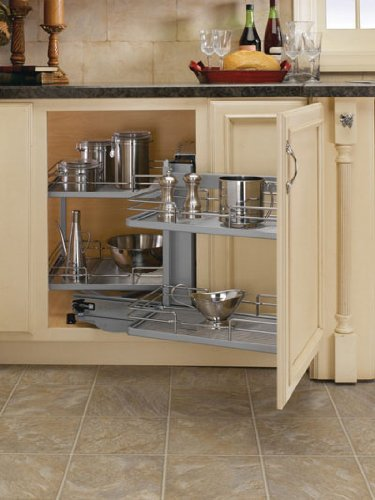 Amazon.com - Blind Corner Cabinet Kit - Chrome - Cabinet ...
