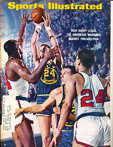 April 24 1967 Rick Barry Warriors Sports Illustrated label SI10