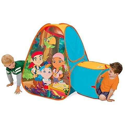 Disney® Jake and the Never Land Pirates Hide About Play Tent with Tunnel by Disney