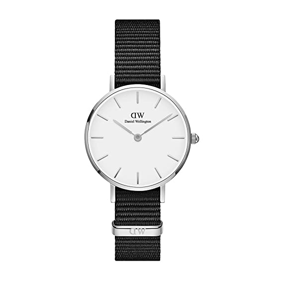 10d8dedf0fbda3 Daniel Wellington Women's DW00100252 Classic Petite Cornwall in White 28mm  Watch: Amazon.ca: Watches