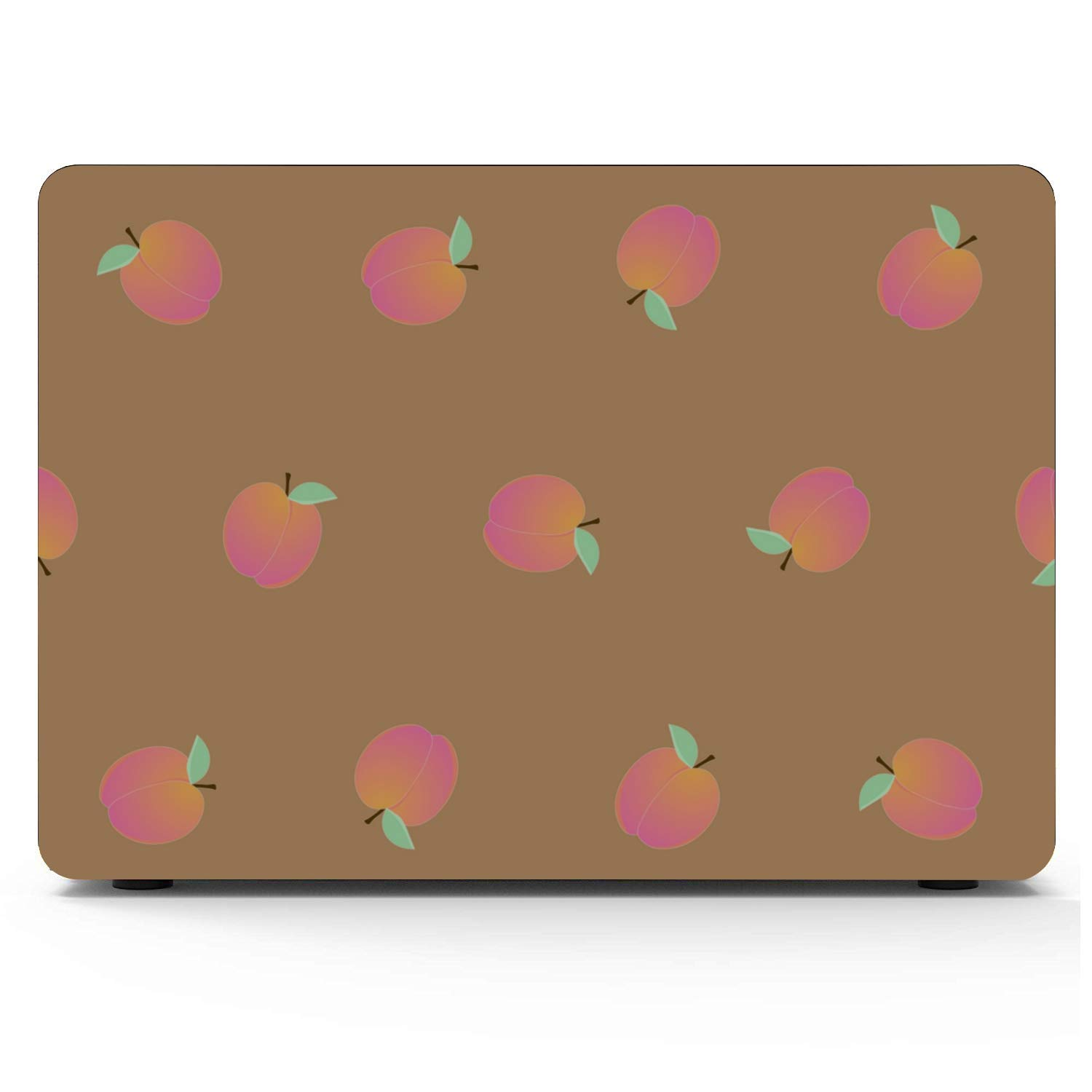 MacBook Cover 15 Inch Summer Pink Creative Fruit Peach Plastic Hard Shell Compatible Mac Air 11 Pro 13 15 MacBook 13 Inch Case Protection for MacBook 2016-2019 Version