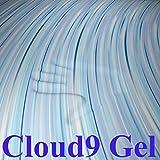 Cloud9 2-Inch Visco Elastic Gel Memory Foam Mattress Topper, Twin XL
