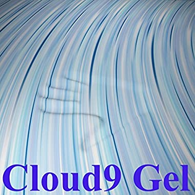 Cloud9 Gel Queen 3 Inch 100% Gel Infused Visco Elastic Memory Foam Mattress Topper