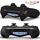 Mod Freakz Pair of LED Light Bar Skins Lipstick Red/Blue/Peach for PS4 Controllers