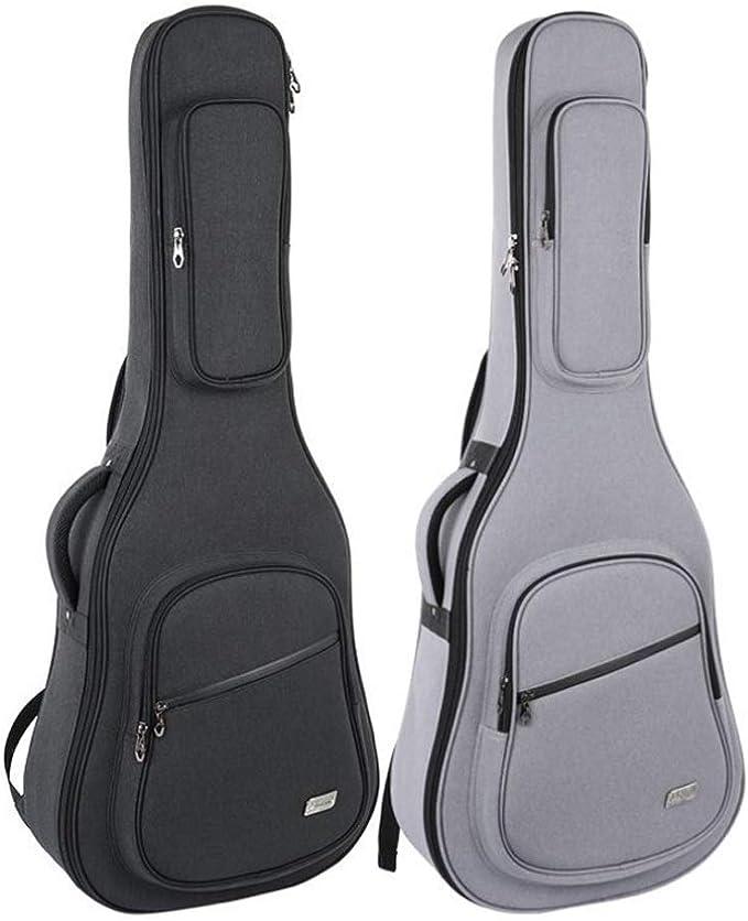 YXIAOn Bolsa de guitarra para 41 pulgadas, funda de guitarra ...