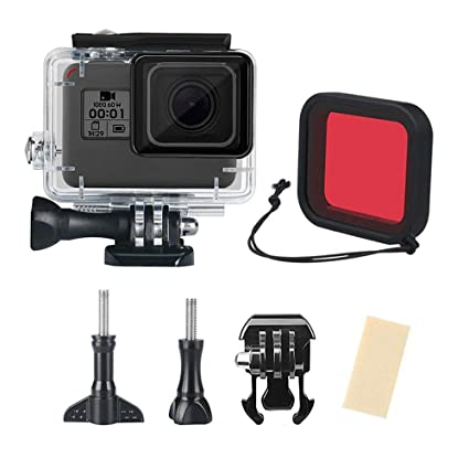Carcasa impermeable para GoPro Hero 7, color negro, 2018, 6 ...