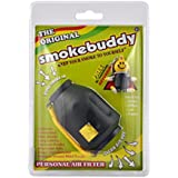Smokebuddy Pack of 2 Jr Original Personal Air Filter Cleaner Purifier with Free Keychain(Black)