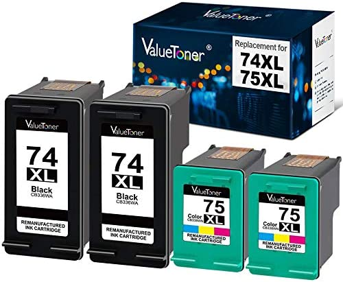 J5730High Yield 74XL InkSurf Remanufactured Inkjet Replacement for HP CB336WN Black Works with: OfficeJet J5700 J5725