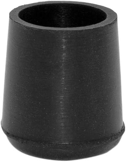 "LOT OF 100 BLACK RUBBER BUFFER PADS 3//4/"" 19MM PLUS SCREWS"