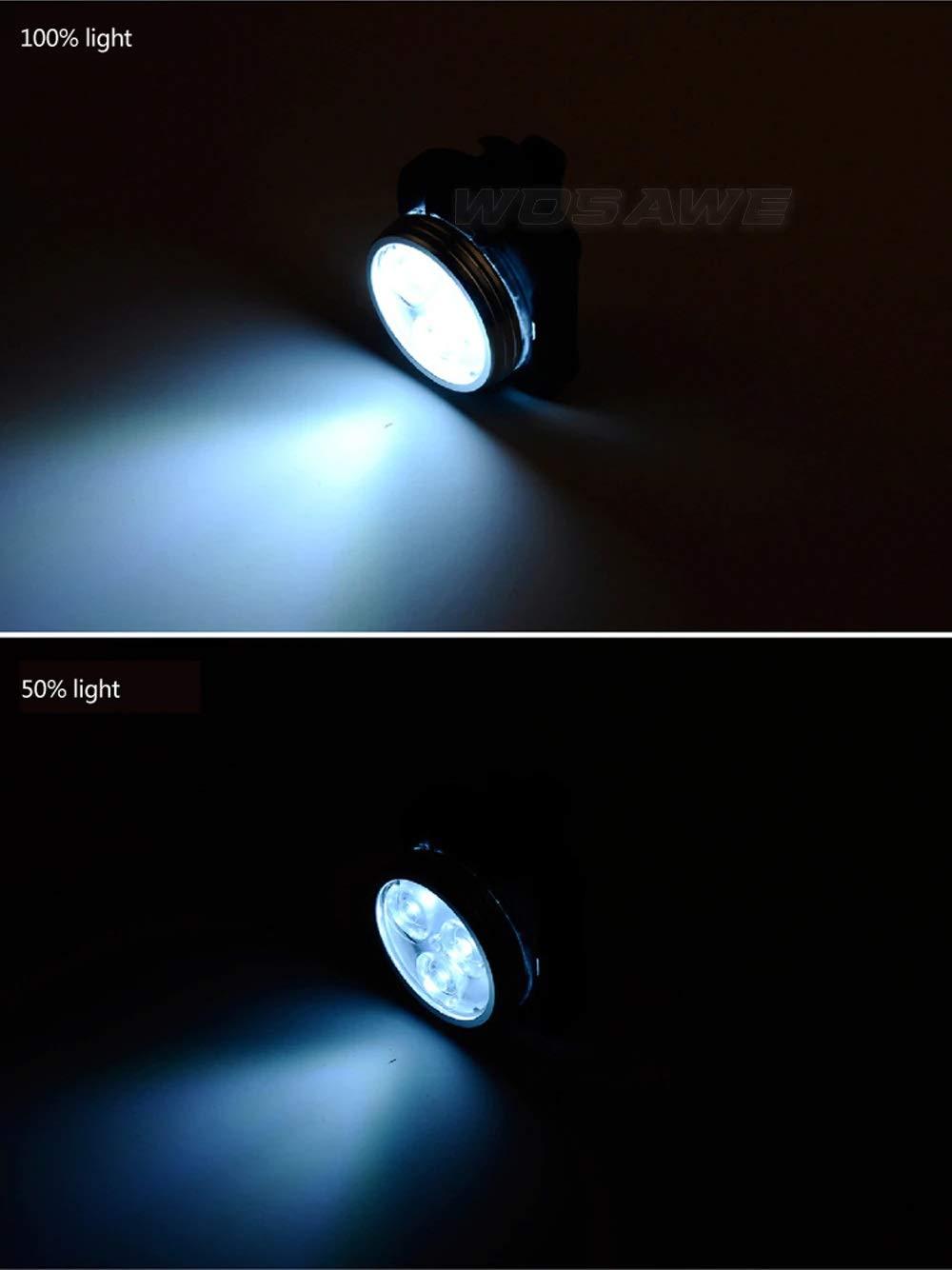 AMPM24 Bicycle Tail Light Headlight Rear Rechargeable USB LED Bike Warning Lamp Set ST010200