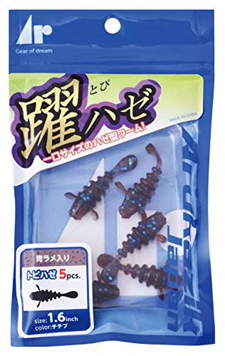Arukazik Japan(アルカジックジャパン) ワーム 躍ハゼ 1.6インチ ミカン #106 ルアーの商品画像