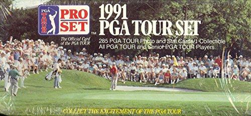 GOLF PGA TOUR 1991 PRO SET COMPLETE FACTORY CARD SET OF 285