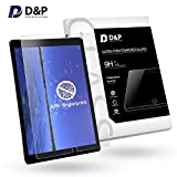 """D&P [Anti-Fingerprint] [Matte Finish] 9H Tempered Glass Screen Protector for iPad Pro 10.5-Inch (2017 Version,Apple new iPad Pro 10.5""""), Anti-Glare / Smudge Proof / Smooth Touch (Game Players' choice)"""