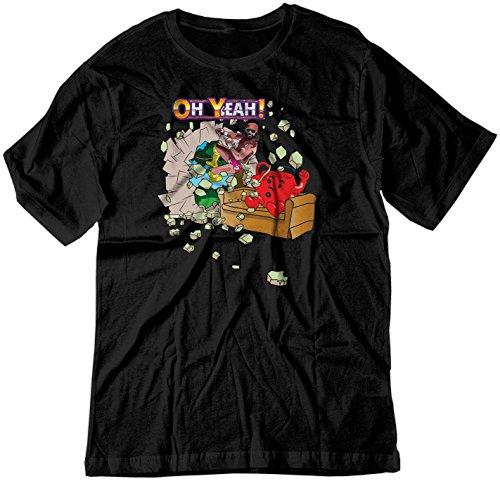 BSW Men's Oh Yeah Kool Aid Man Macho Man Randy Savage Shirt 2XL -