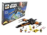 HPRO Star Wnrs Star Wars Poe's X-Wing Fighter Building Blocks Kit, 748 Pieces