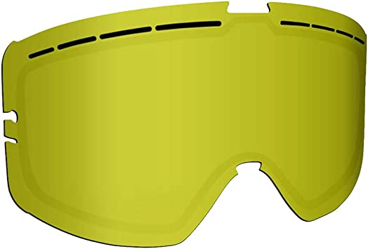 509 Kingpin Goggle Lenses Gold Mirror//Yellow Tint