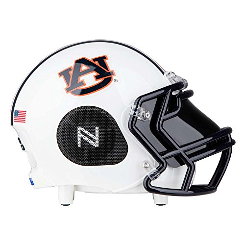 - Portable Bluetooth Speaker, [Officially Licensed] NCAA College Football Helmet Super Mini Wireless Stereo Speaker Built-in Mic, Hands-Free Call, Loud HD Sound Bass - Auburn Tigers