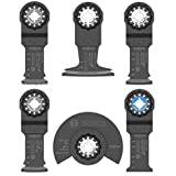 Bosch OSL006 Starlock Oscillating Multi-Tool Accessory Blade Set (6-Piece)