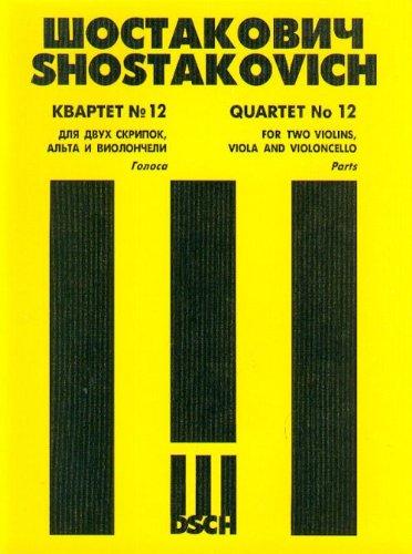 String Quartet No.12. Book Set of Parts.