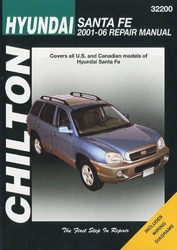 hyundai santa fe chilton s repair manual chilton 9781563927249 rh amazon com 2008 hyundai santa fe user manual 2008 hyundai santa fe owners manual pdf