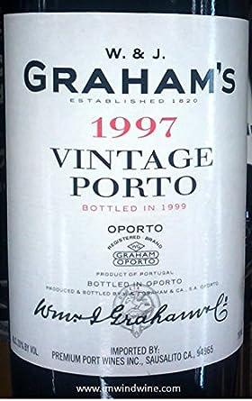 Graham's Vintage 1997 - 75CL: Amazon co uk: Grocery