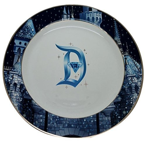 Disneyland 60th Anniversary Diamond Celebration Dinner Plate by - Disney Porcelain