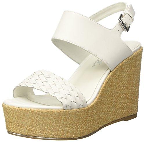 Bianco Femme Mesa Docksteps Sandales Compensées t0IwAzq