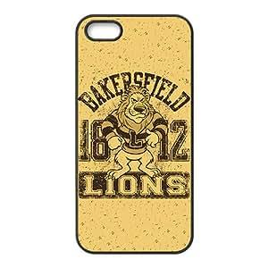 Lion Logo Custom Protective Hard Phone Cae For Iphone 5s
