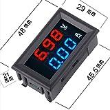 "WOWOONE 0.28""LED Digital DC Voltmeter Ammeter"