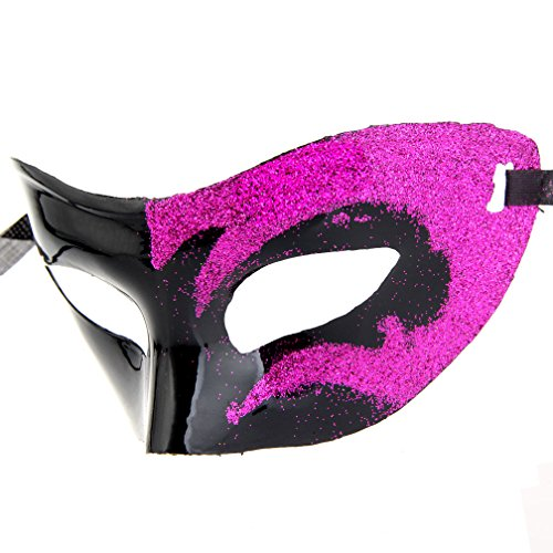 12pcs Set Evening Prom Venetian Masquerade Masks Costumes Party Accessory by IETANG (Image #6)