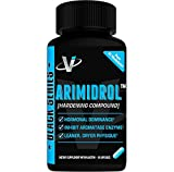 VMI Sports® Arimidrol™ Best Selling Testosterone Booster, Strongest Anti-Estrogen & Powerful Aromatase Inhibitor Supplement 60ct with Acacetin & Astragalus Very Similar to Arimistane Estrogen Blocker