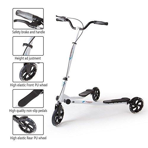 AODI Wheels Trike Striker Scooter for Older Multiple