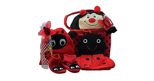 Amazon.com: Little Lady bug-a-boo cesta regalo bebé, niña: Baby