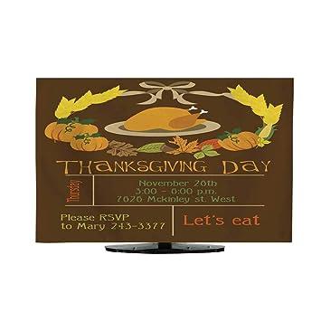 Television - Tarjeta de felicitación de Acción de Gracias (30/32 ...