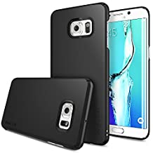 Galaxy S6 Edge Plus Case, Ringke SLIM [BLACK] Snug-Fit & Slender [Tailored Cutouts] Essential Ultra Thin Side to Side Edge Coverage Superior Coating PC Hard Skin Samsung Galaxy S6 Edge+ Cover